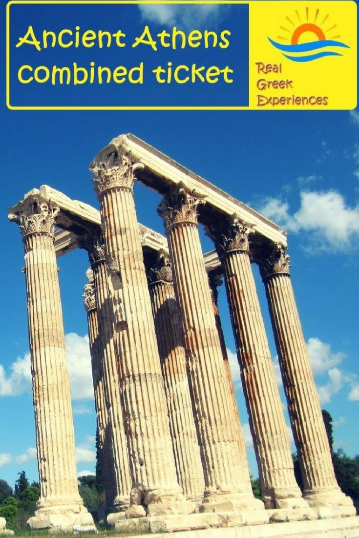 Ancient Athens - Combined ticket for archaeological sites