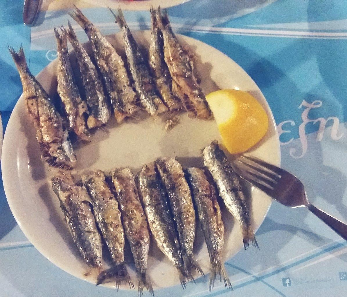 Greek fish dish
