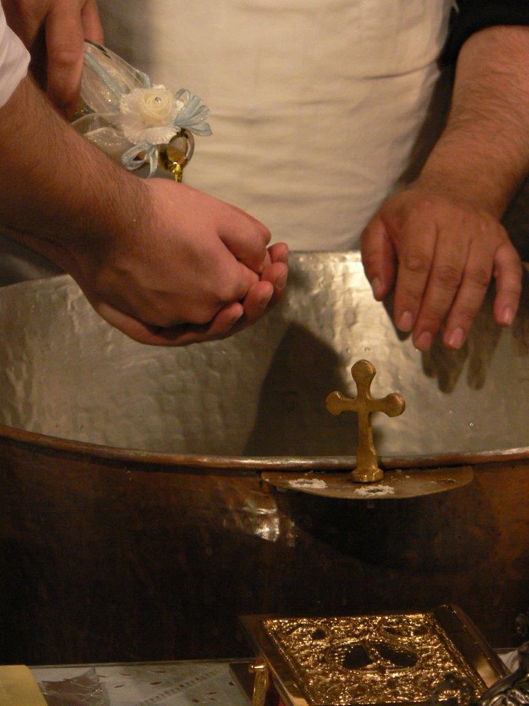 A Greek christening