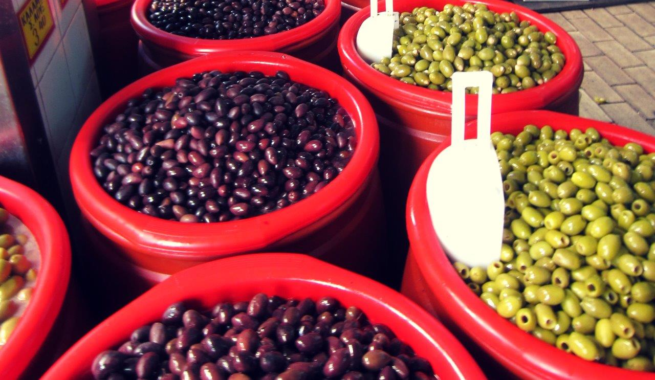 Greek olives are amazing!