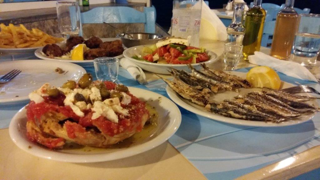 Greek food tastes even better in summer!