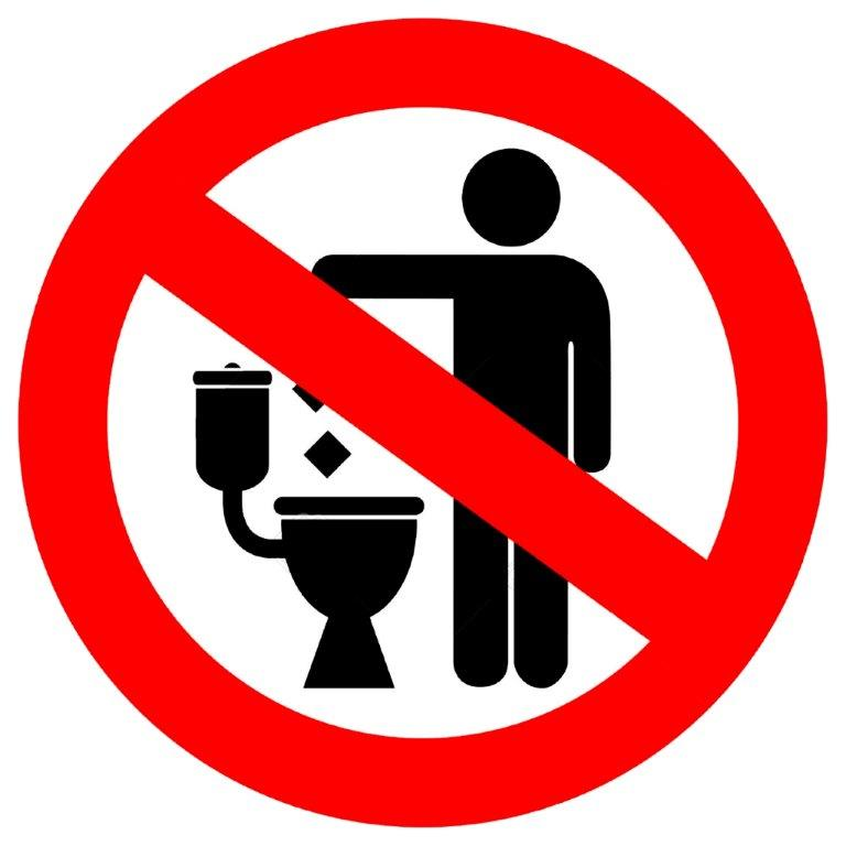 Things to avoid in Santorini - No paper in the toilet