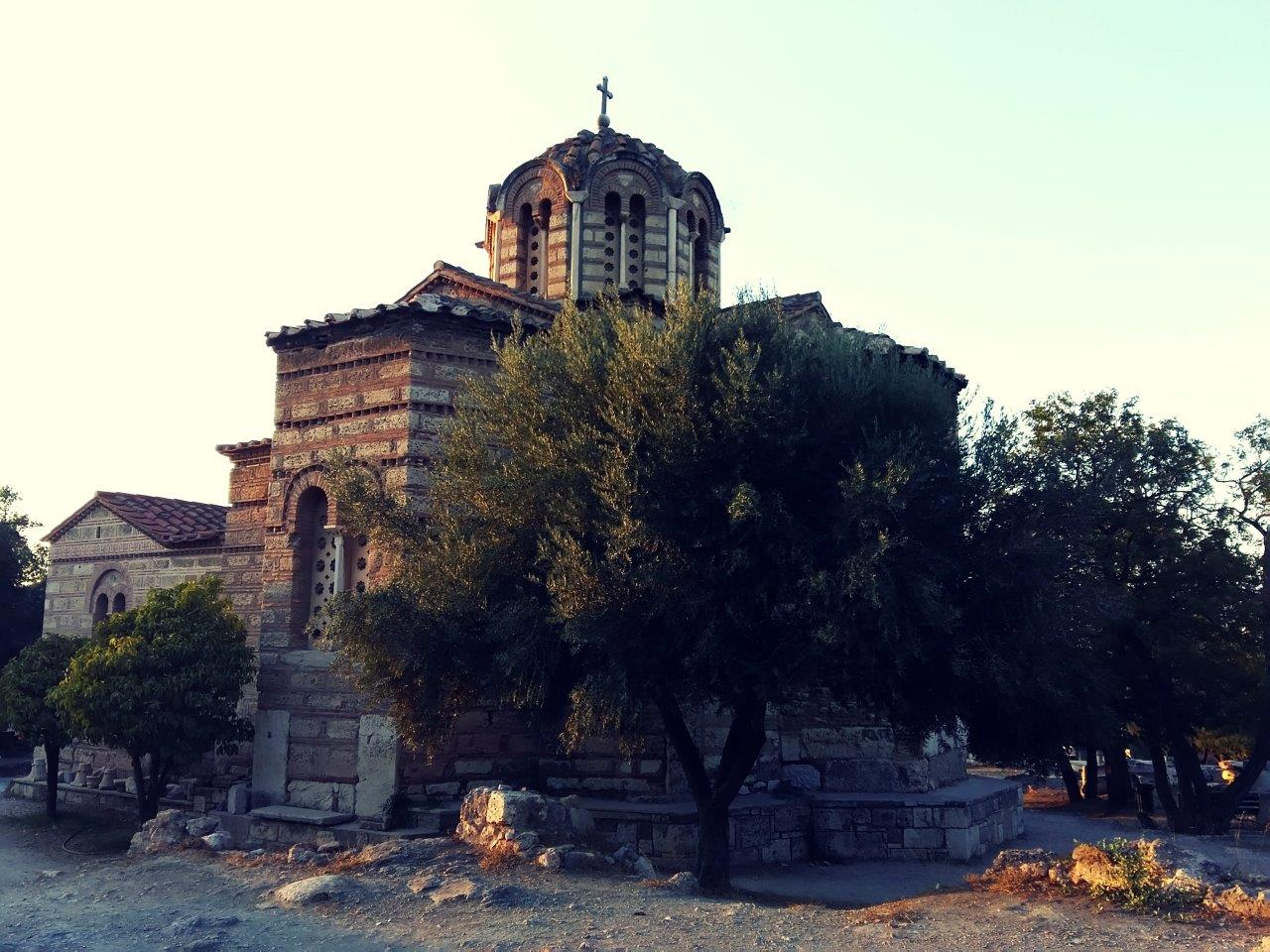 A Byzantine church in Athens - Religion in Greece