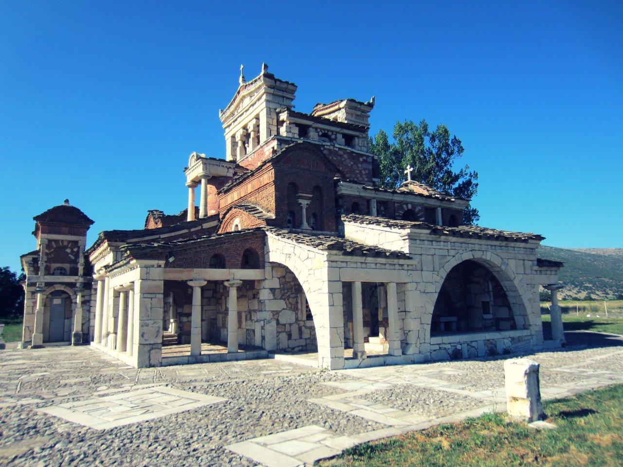 The church of Agia Fotini near Tripoli
