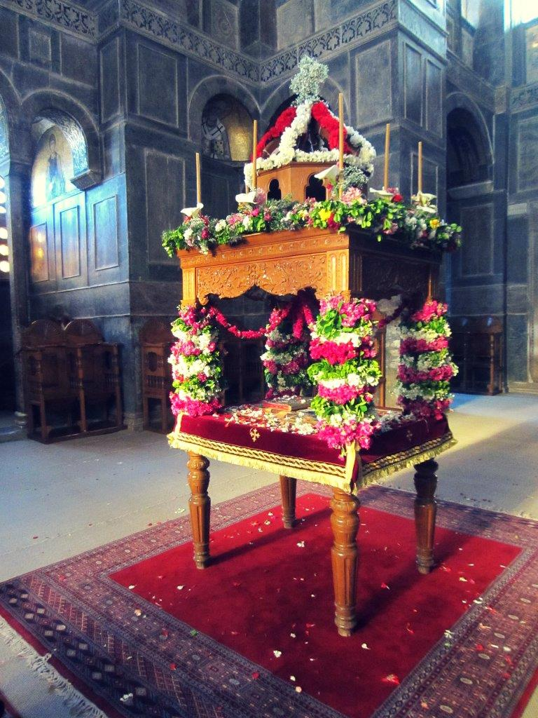 The Epitaphios procession before Greek Easter