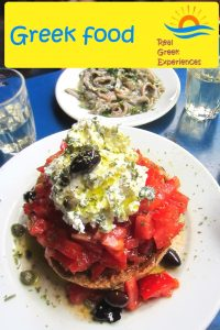 The best food in Greece