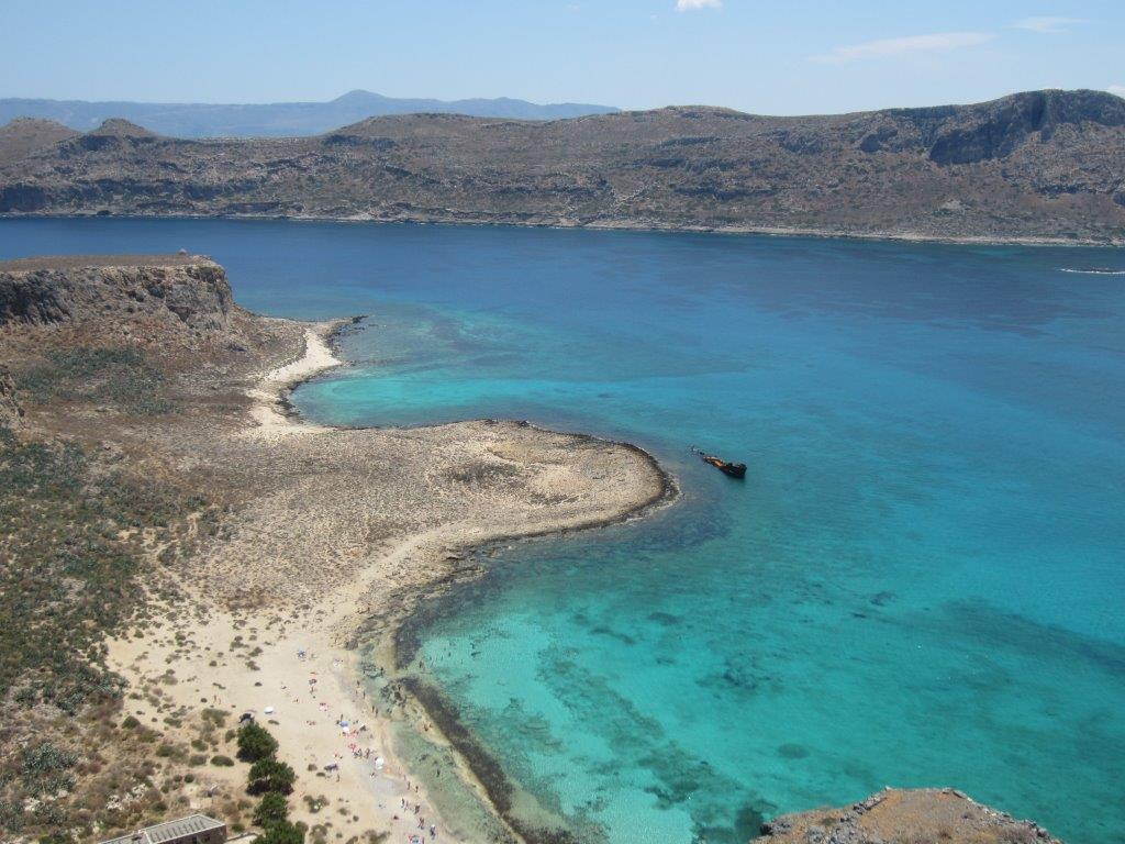Balos beach in Crete - Should I visit mainland Greece or the islands
