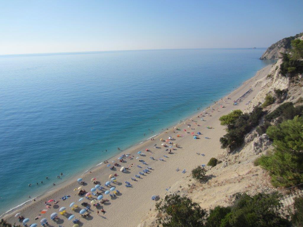Amazing beaches in Greece - Egremni in Lefkada