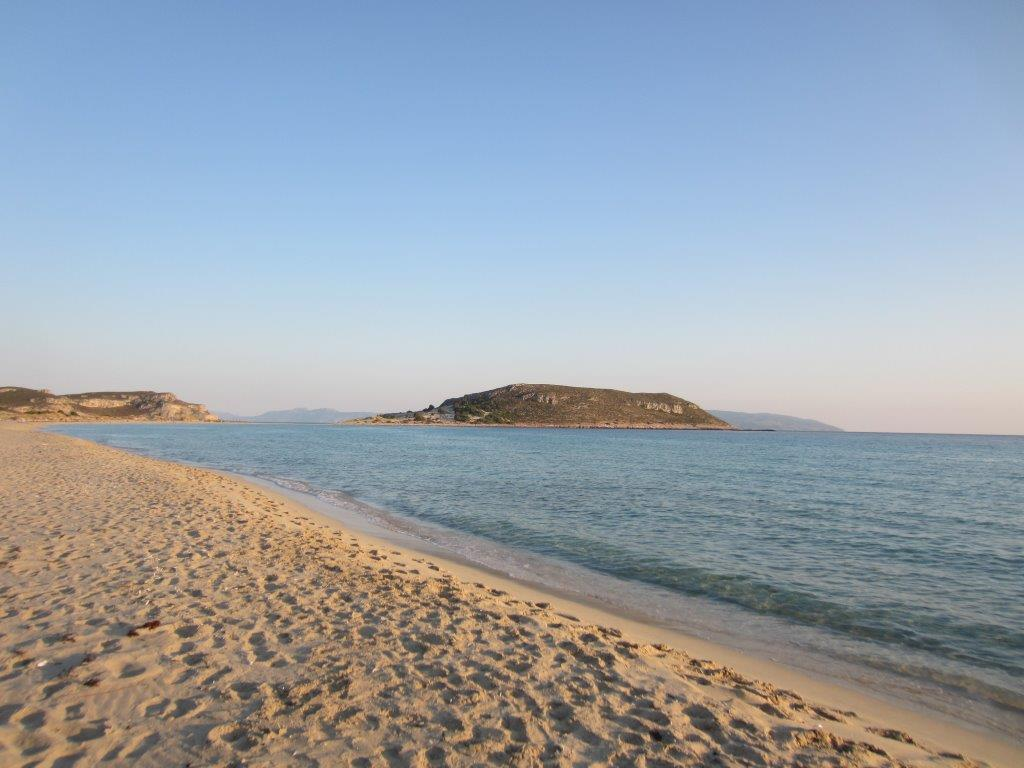 Elafonisos beach in the Peloponnese