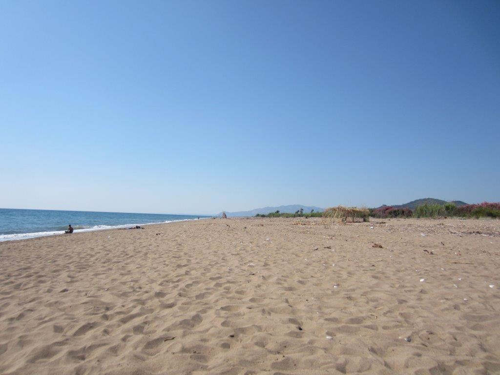 Kyparissia Beach in the West Peloponnese of Greece