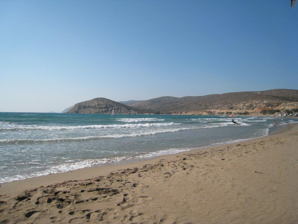 Top beaches in Greece - Prasonisi beach in Rhodes