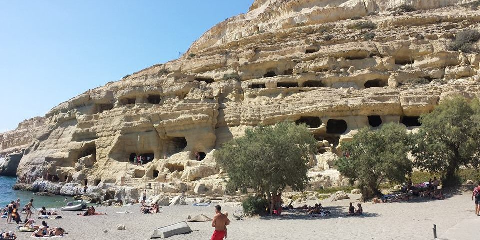 Greece in two weeks - Visit Matala in Crete