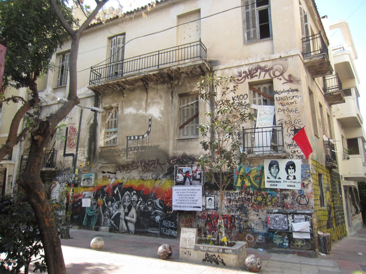 Take an alternative athens tour and discover different neighborhoods in the city