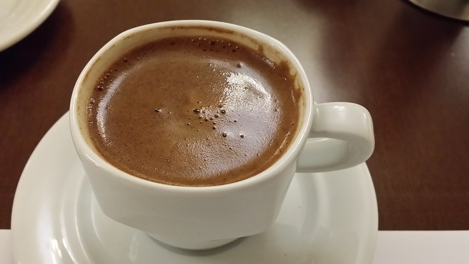 A typical Greek coffee