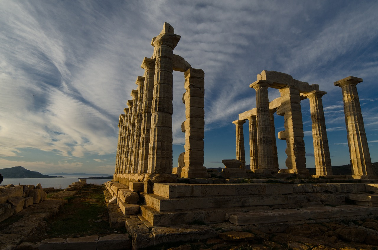 The Temple of Poseidon at Cape Sounion is a great half-day trip from Athens