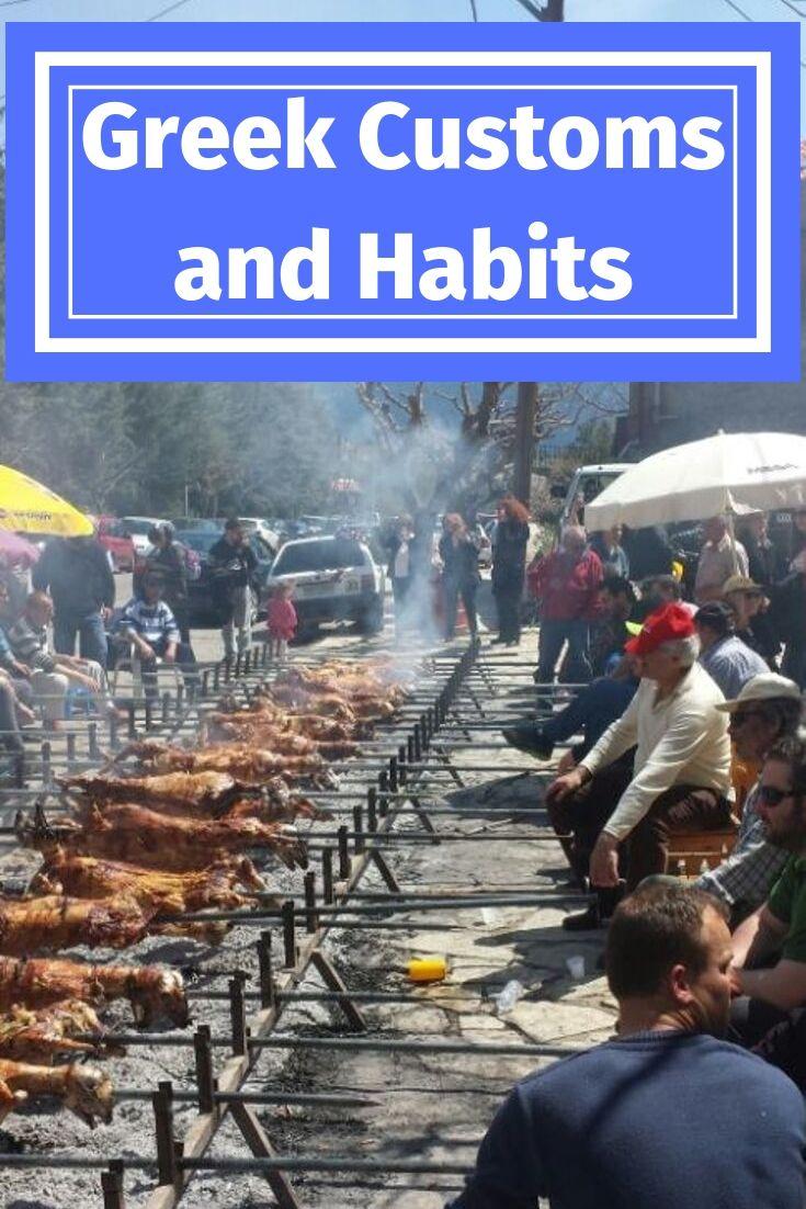Greek Customs and Habits