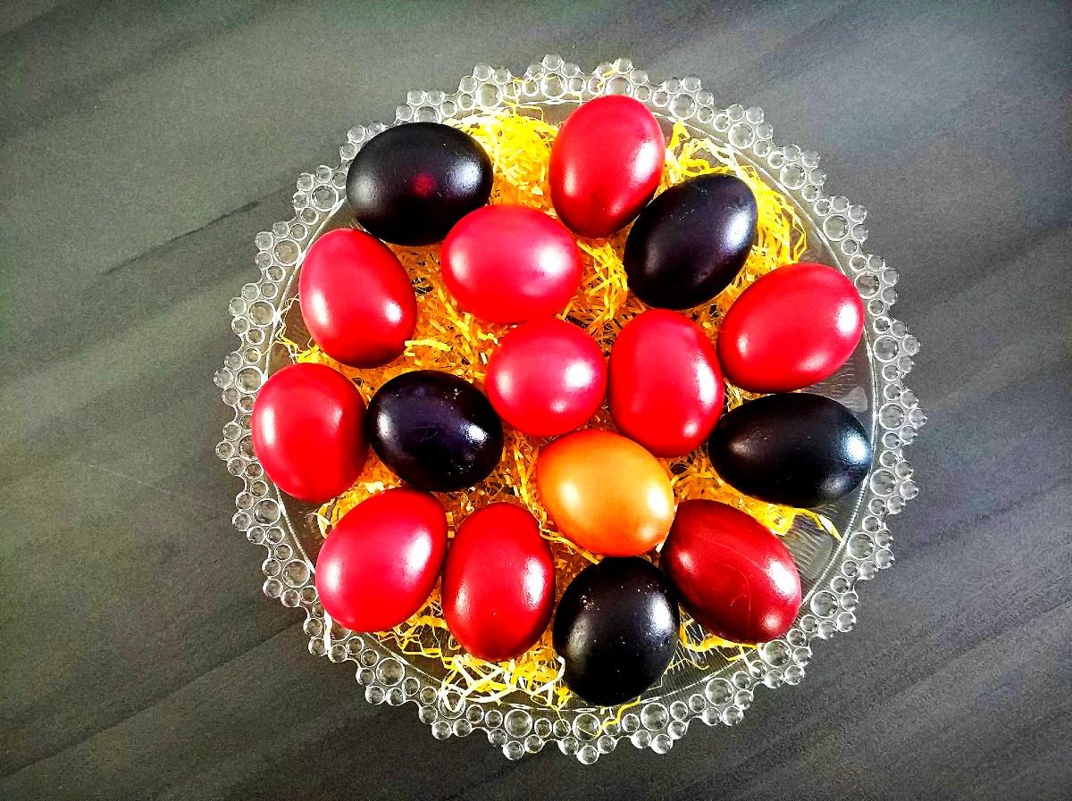 Red eggs for Greek Easter