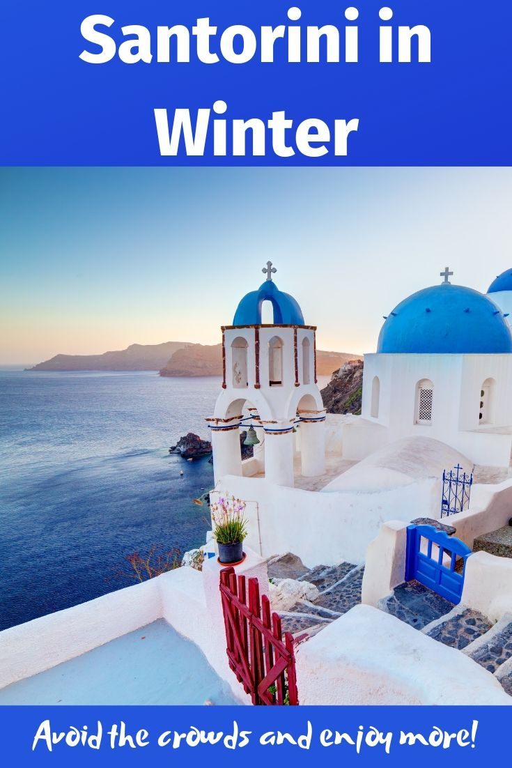 Santorini in Winter - Avoid the croads and enjoy more by visiting the Greek island of Santorini in the winter months.