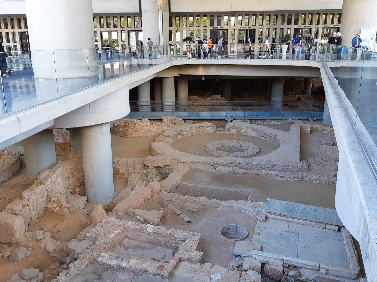 Best museums in Athens - Acropolis museum