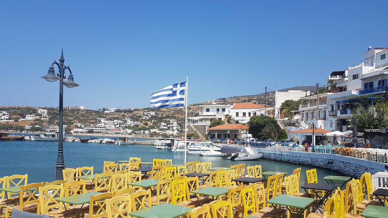 Cheapest time to go to Greece - Andros island