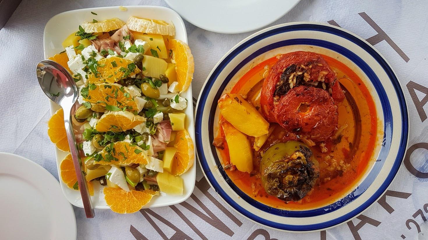How to order Greek food