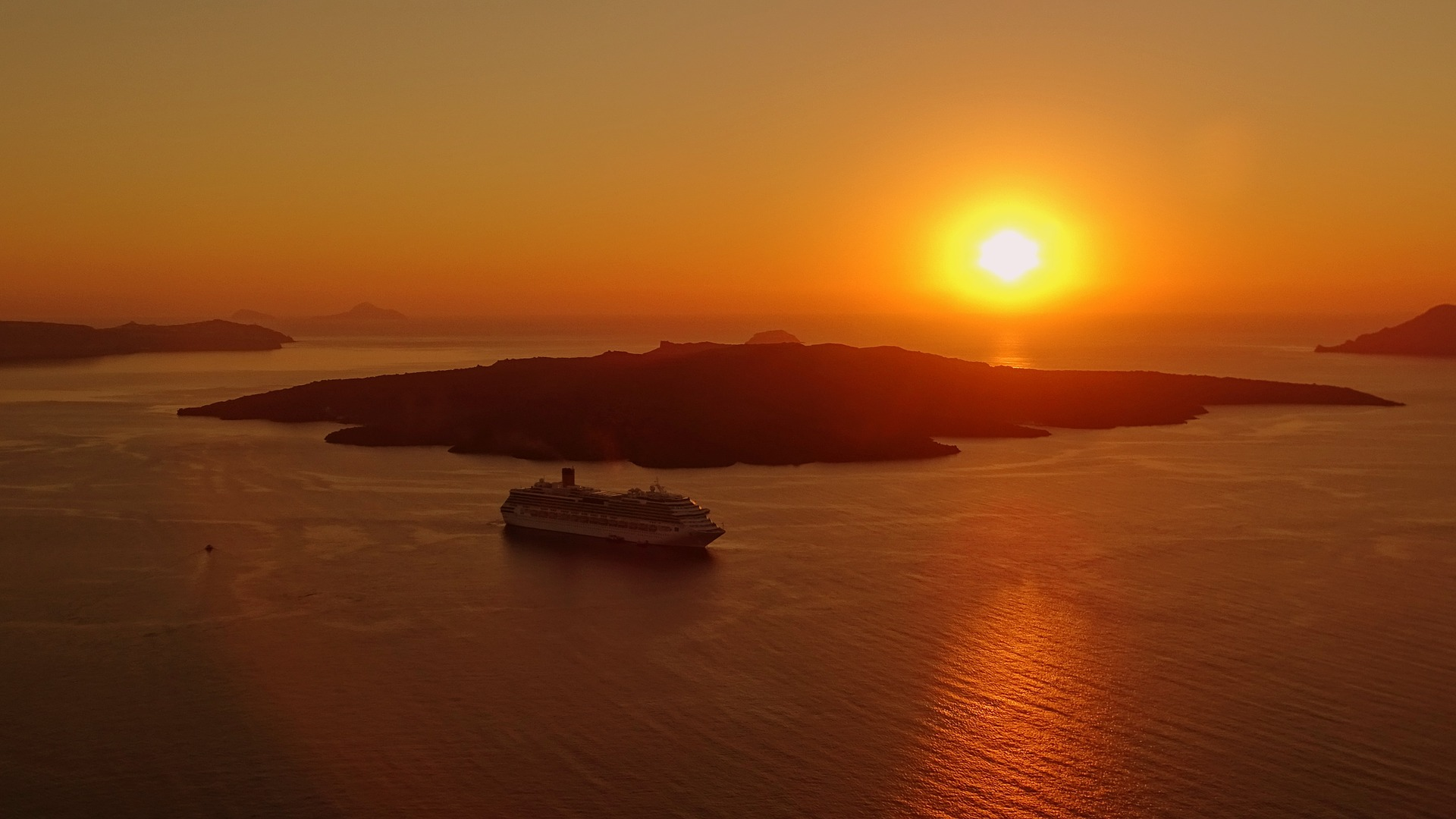 How many days in Santorini - Amazing Santorini sunset