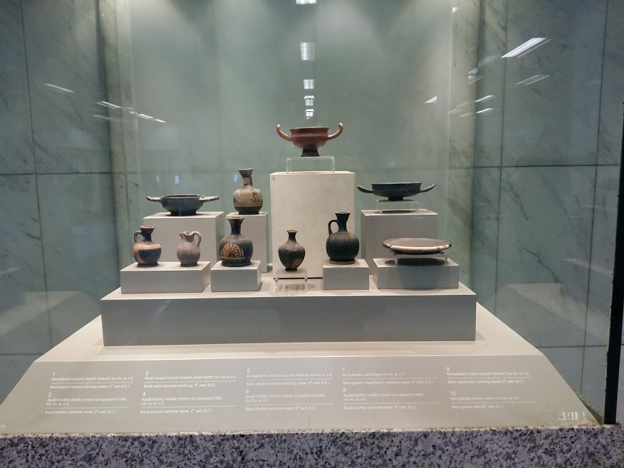 Check out the artifacts inside the Athens metro