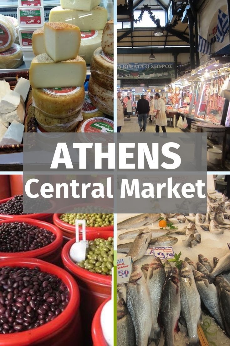 A Guide to Athens Food Market