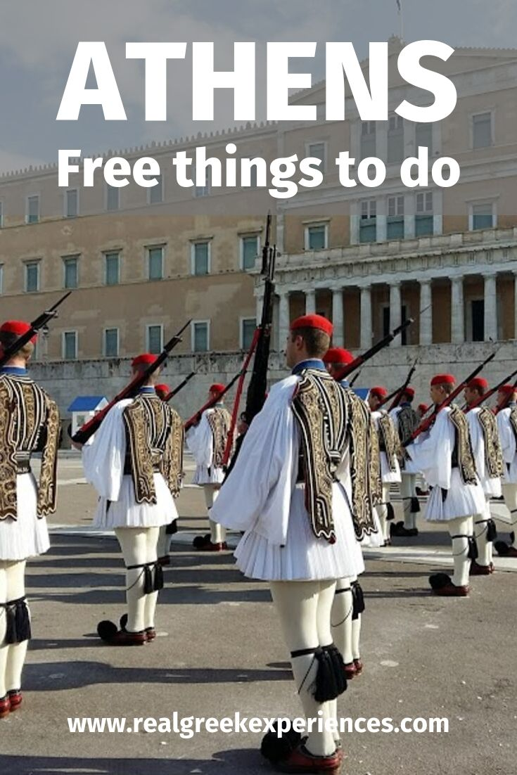 A list of the top 15 free things to do in Athens Greece