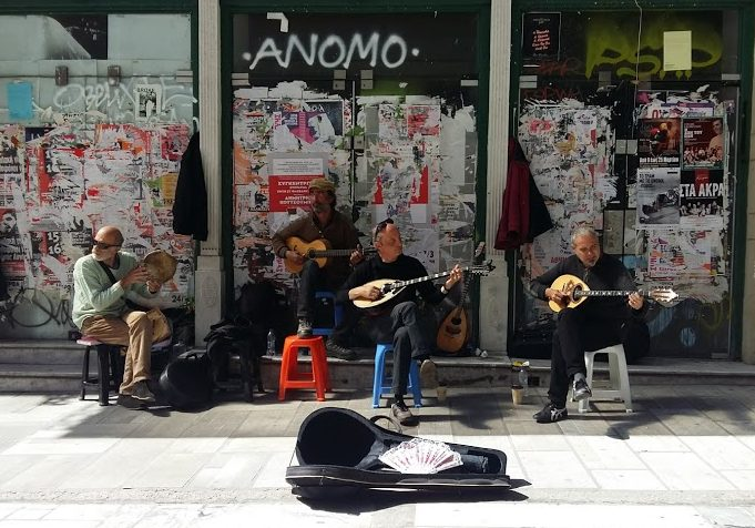Free things to do in Athens - Buskers