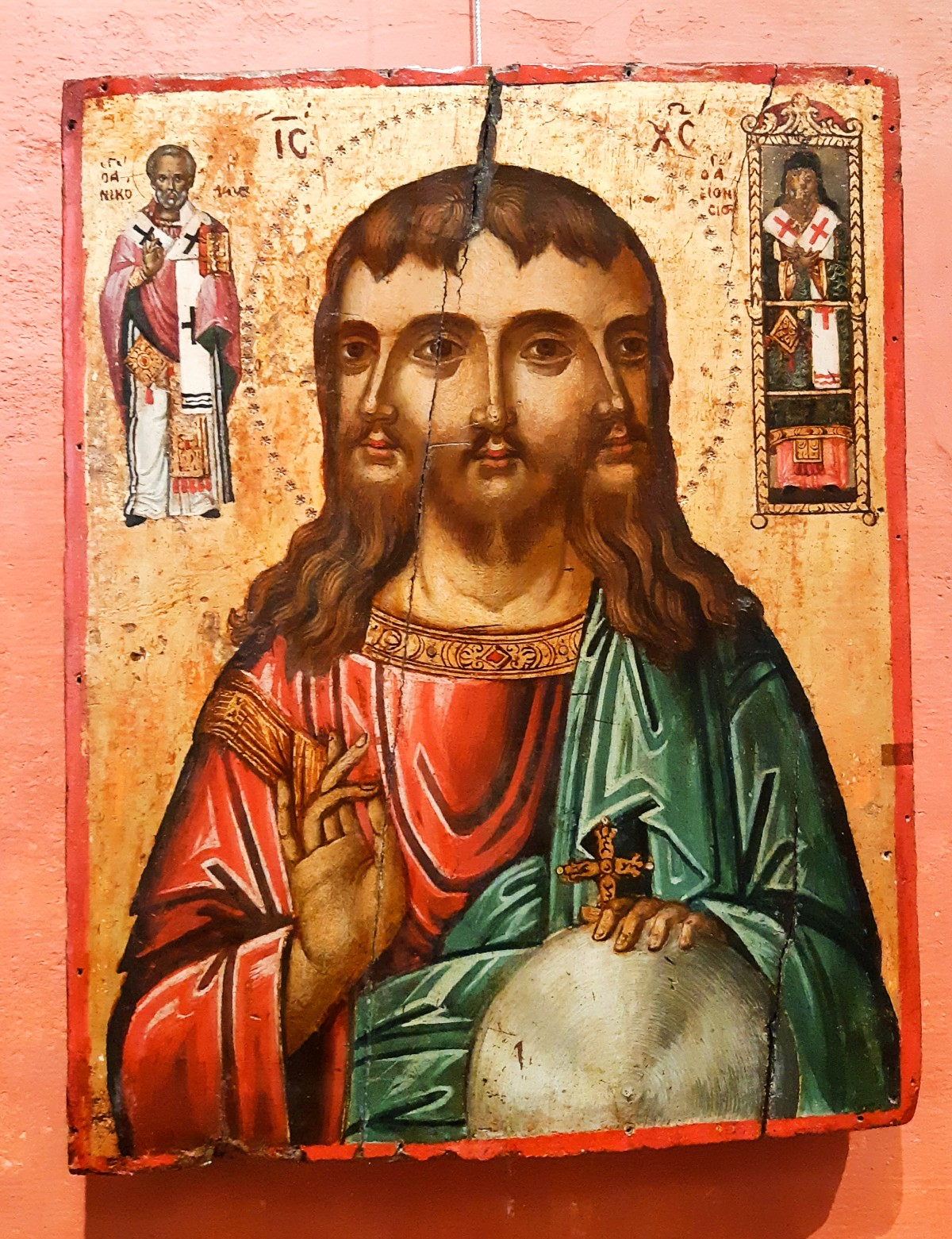 Byzantine art in Athens Greece