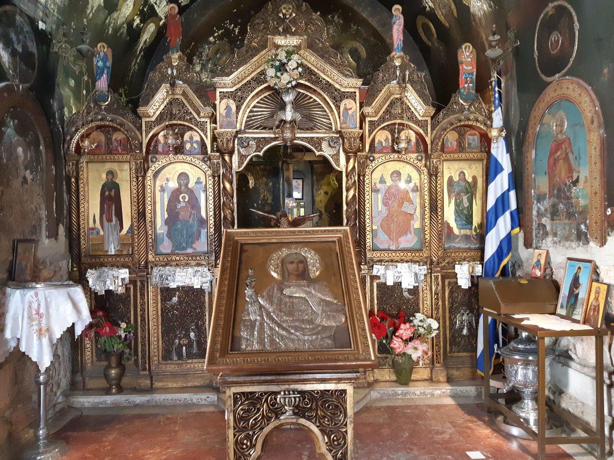 Psyrri in Athens - A church