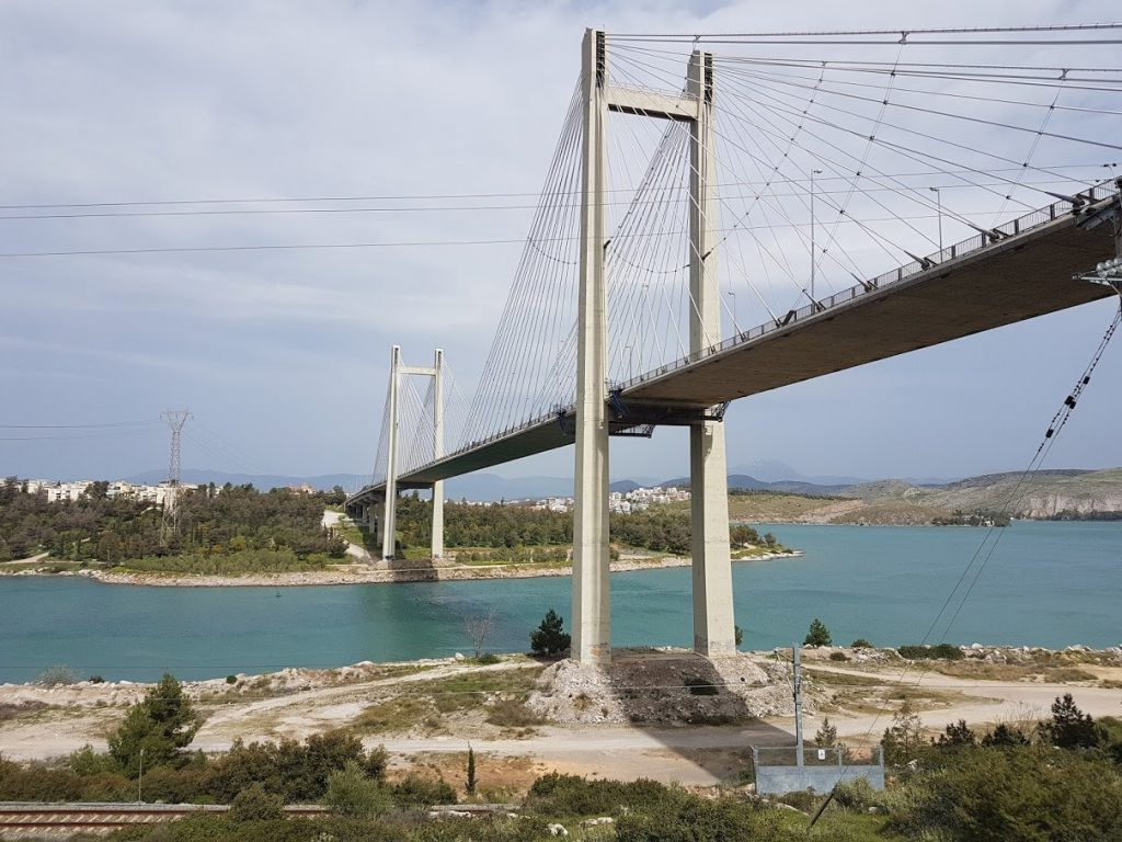 An introduction to the Greek islands - Halkida bridge in Evia