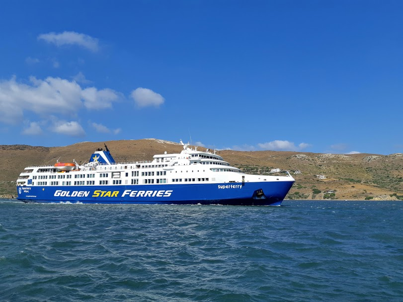 Best time to visit Greece - Ferry in Greece