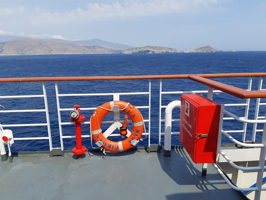 Ferries to the Greek islands