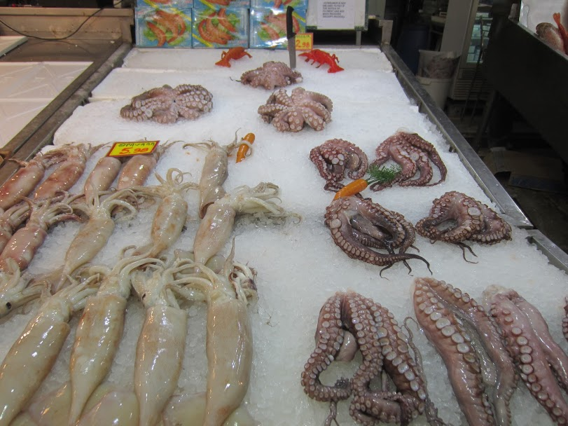Central market Athens - Octopus