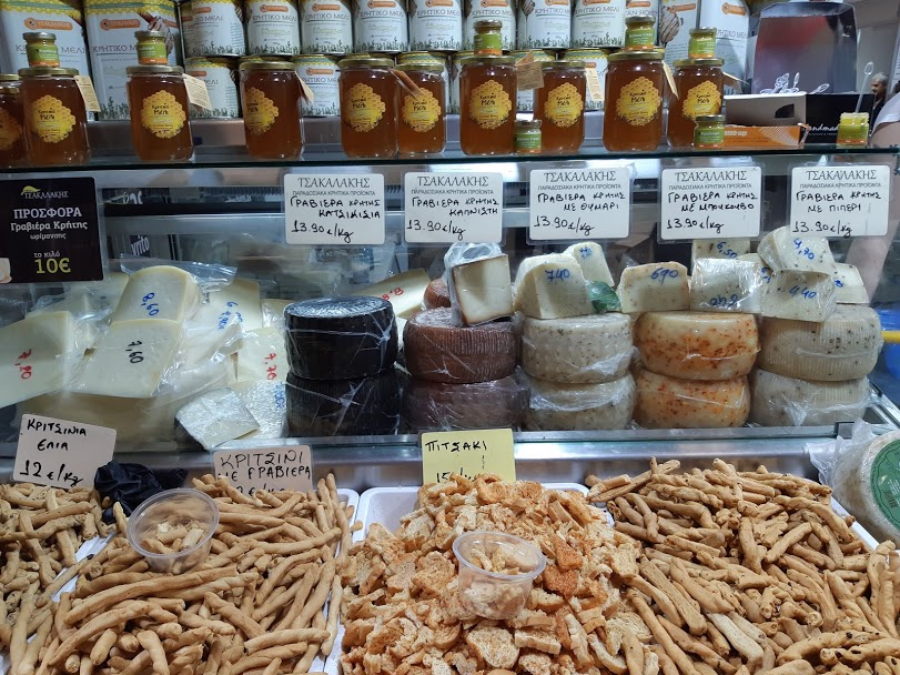 Athens food markets - Local products
