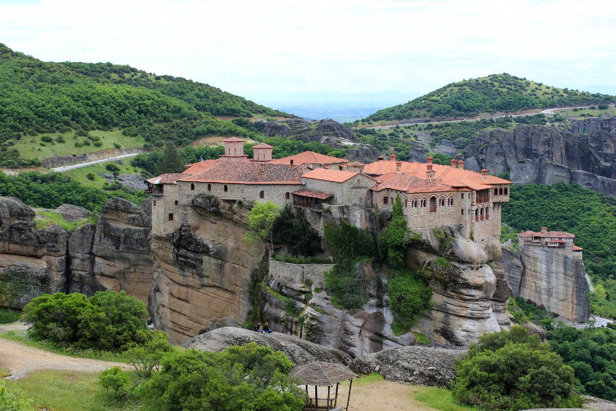 Amazing monasteries in Meteora, Greece