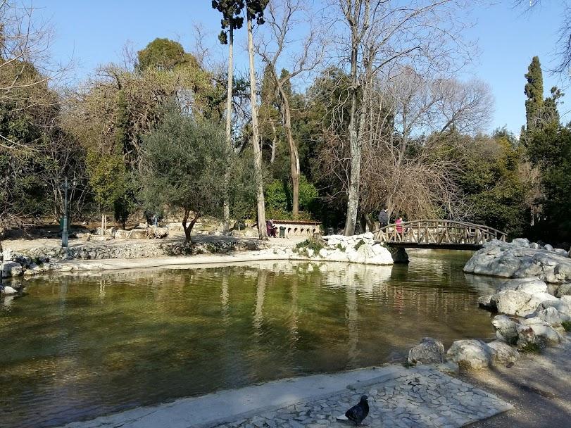 Free things to do in Athens - Botanical Gardens