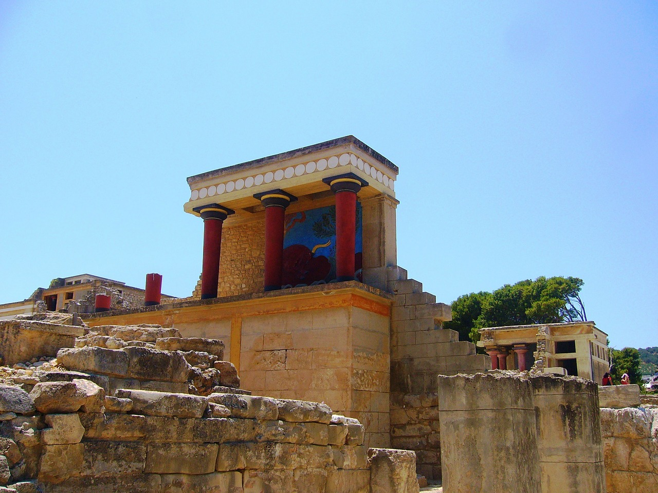 Greece tourist attractions - Knossos in Crete