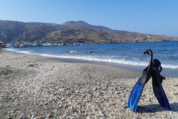 An introduction to the Greek islands - Korth beach Andros