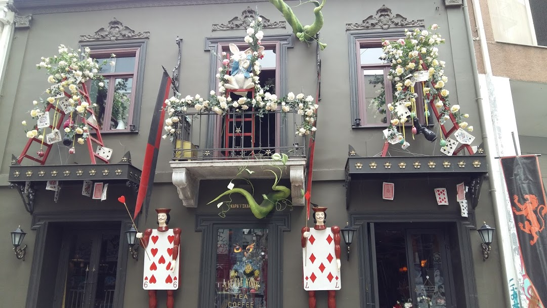 Little Kook Athens fairy cafe