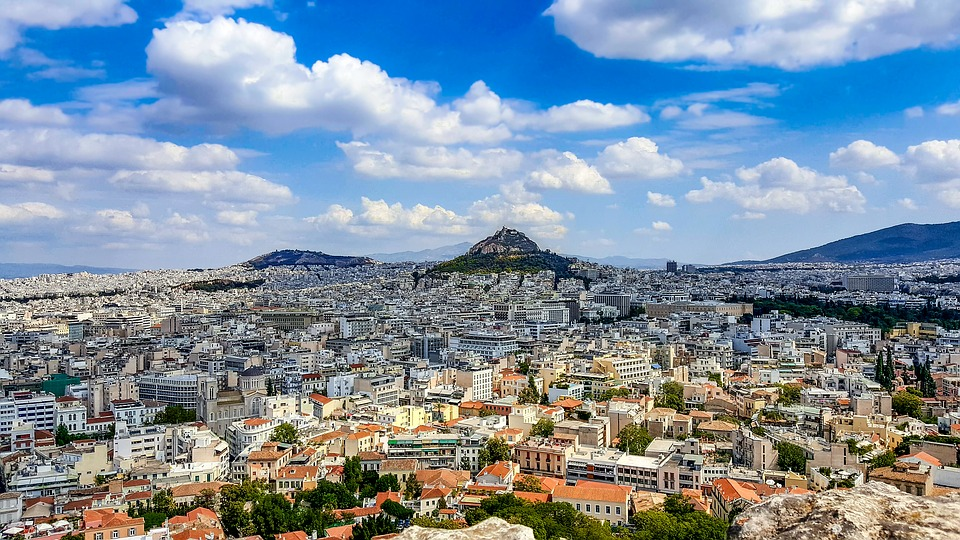 Best time to go to Athens - Lycabettus Hill