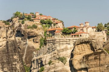 Meteora monasteries Greece