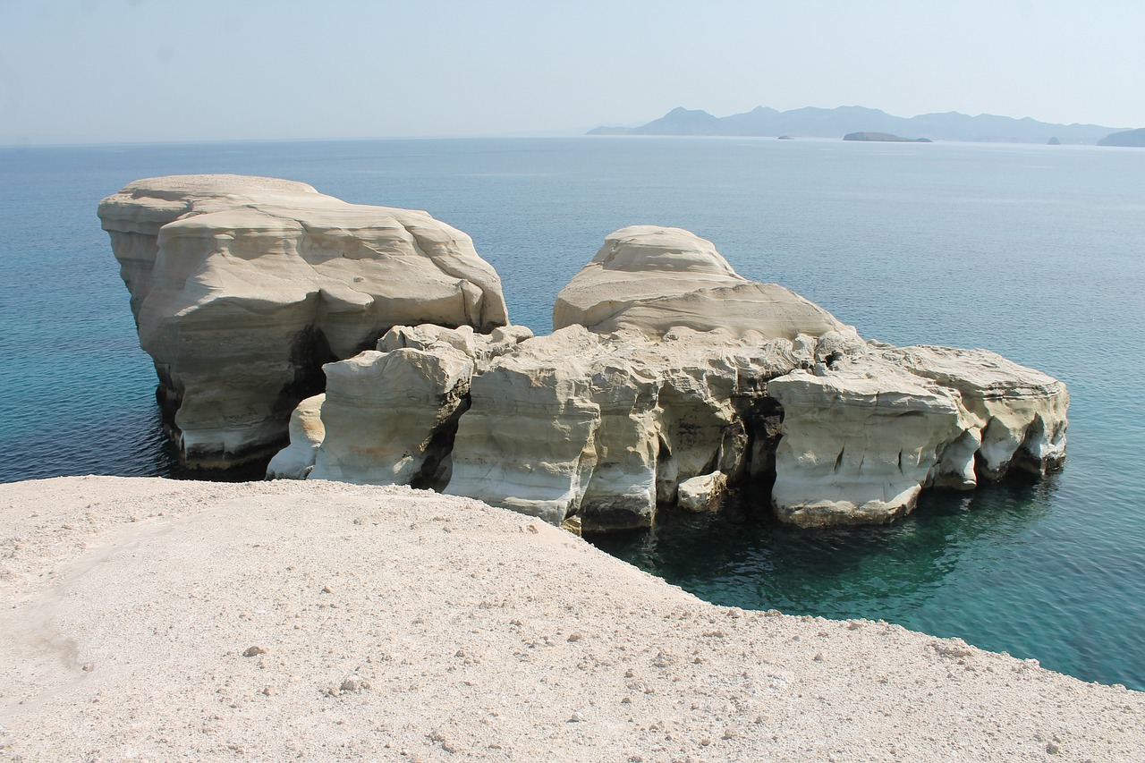 Greece tourist attractions - Beaches in Milos