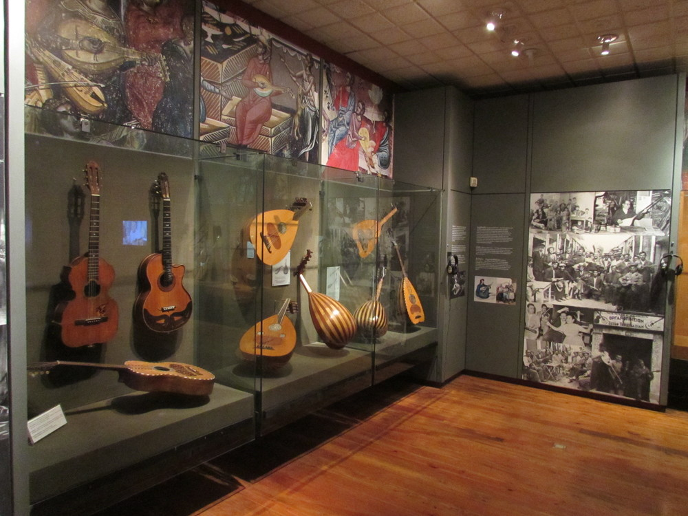 The museums of Greek instruments in Athens, Greece