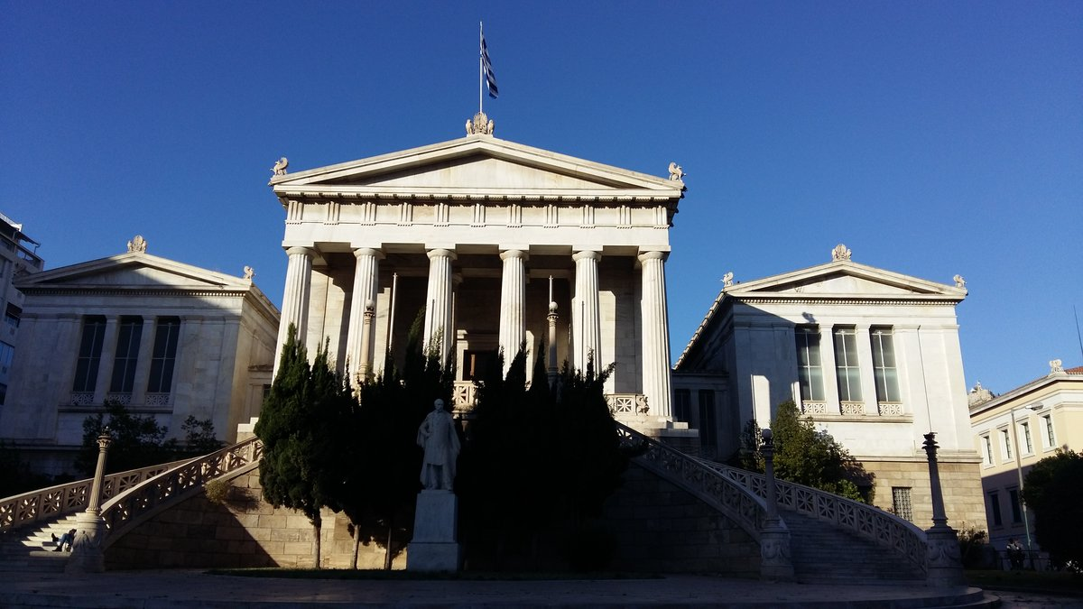 Best time to go to Athens - The National Library