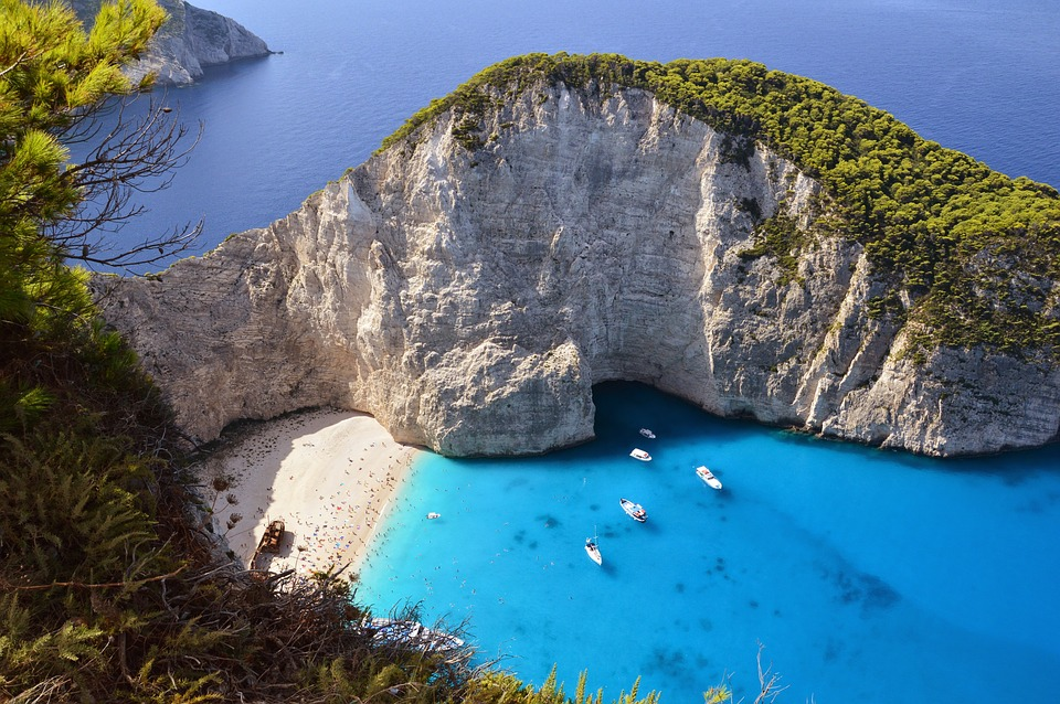 An introduction to the Greek islands - Navagio beach in Zakynthos