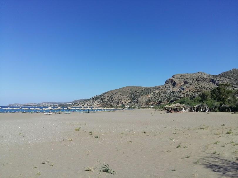 Island hopping in Greece on a budget - Palaiochora beach Crete