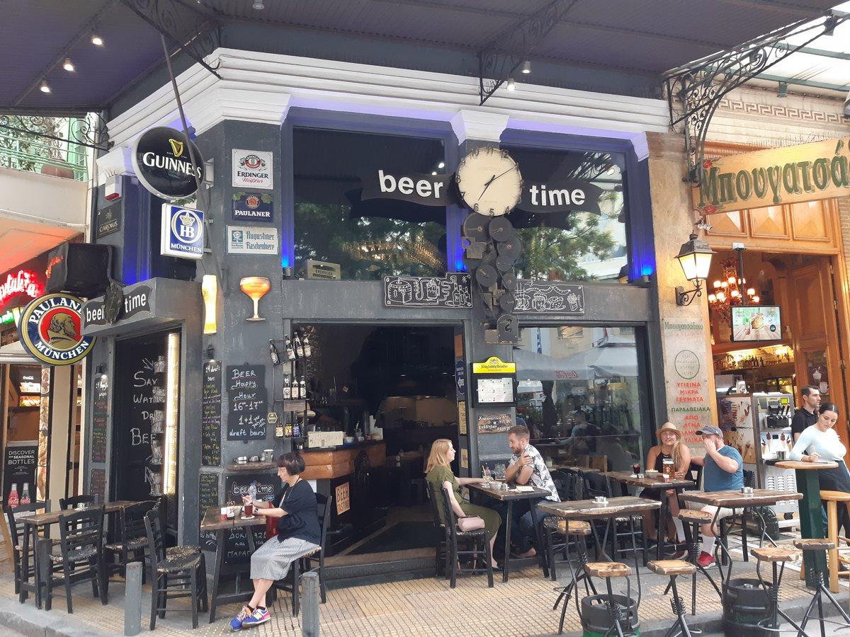 Psyri in Athens - Beertime craft beer bar